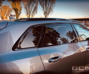 Audi Etron blindering en ontchromen raamlijsten
