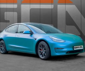 Tesla Caribbean Flip wrap